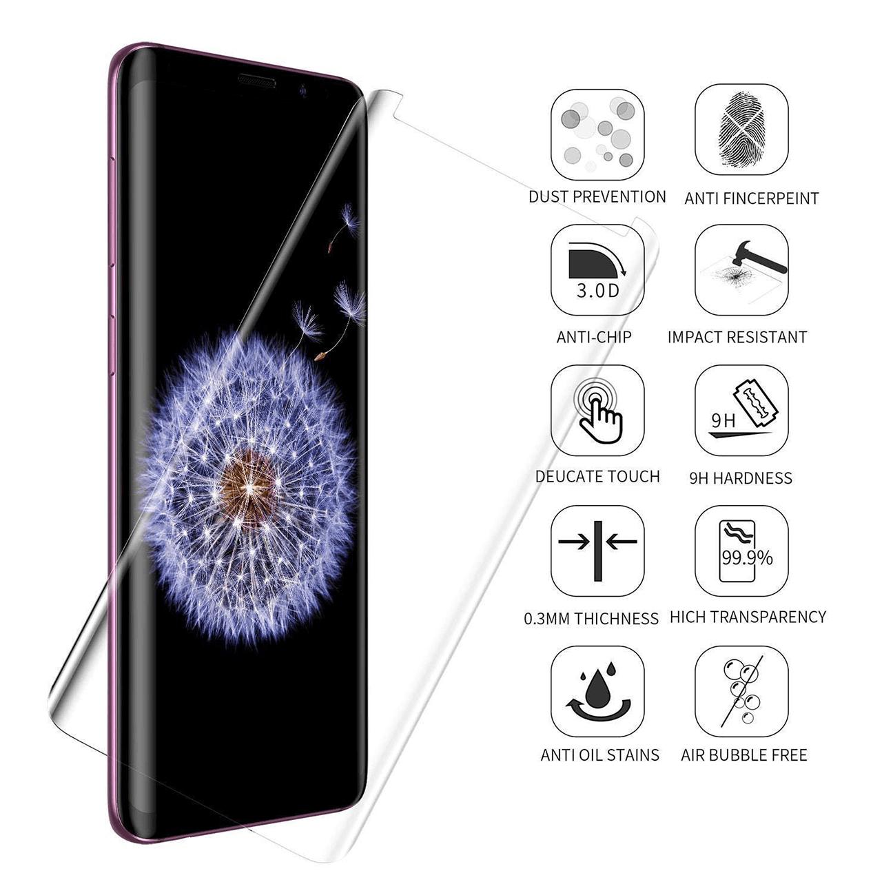 Samsung Galaxy S10 Curve UV Mobile Glass