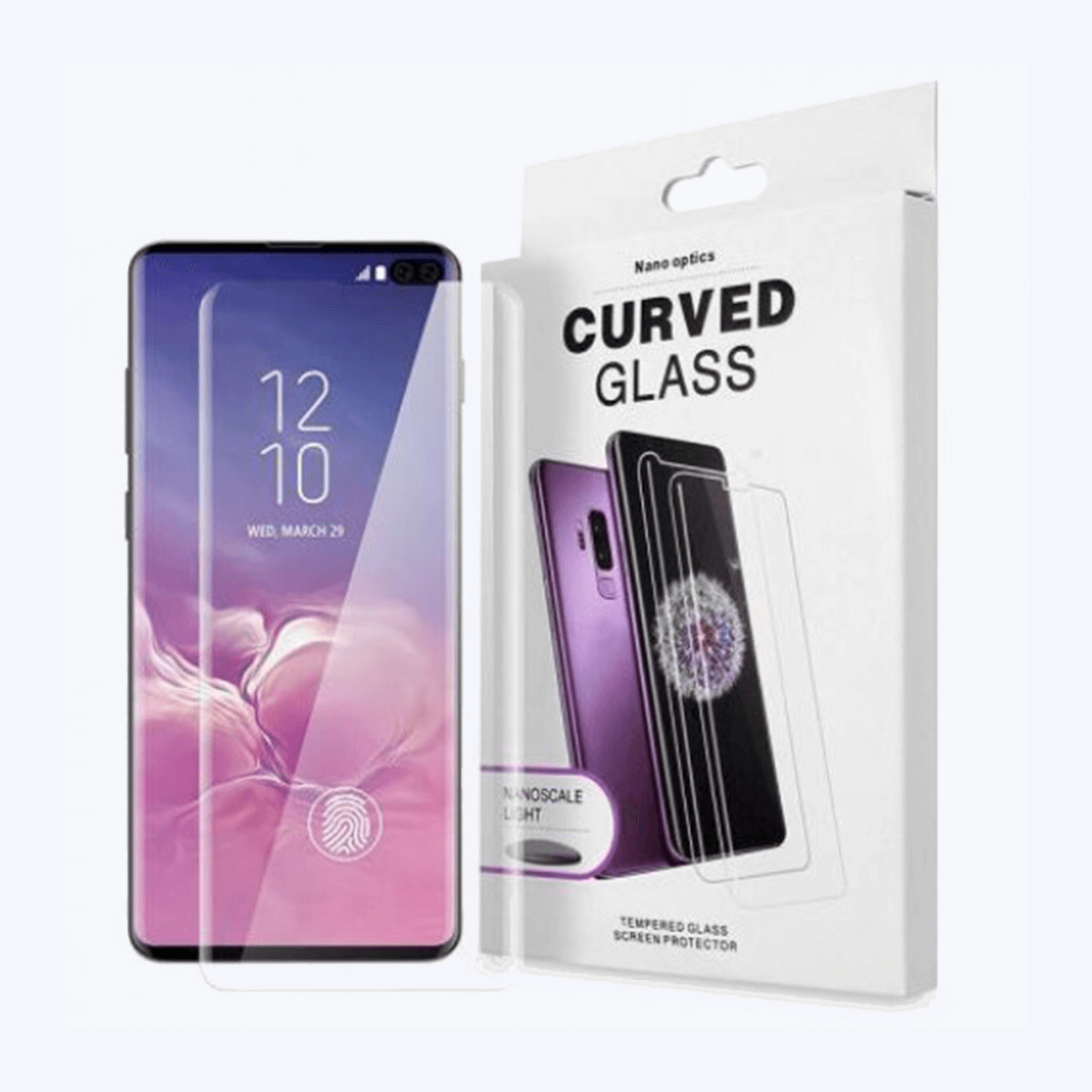 Samsung Galaxy S10 Plus Curve UV Mobile Glass