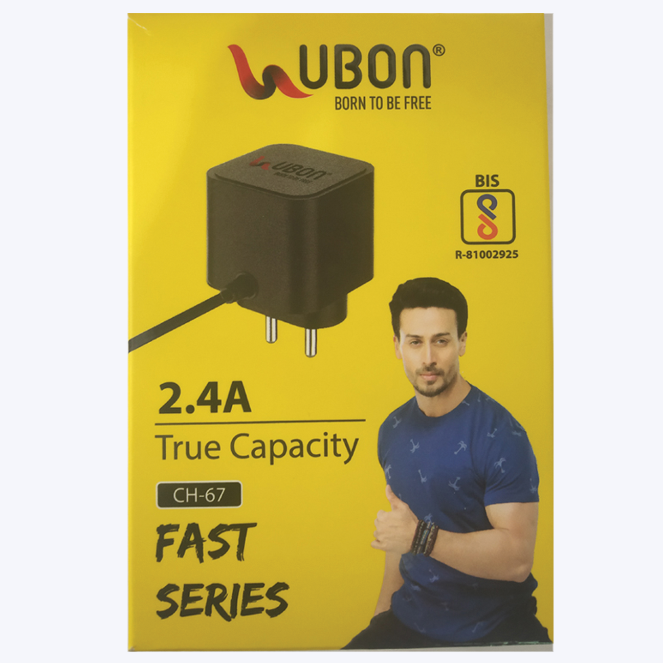 Ubon CH-67 5 W 2.4 A Mobile Charger