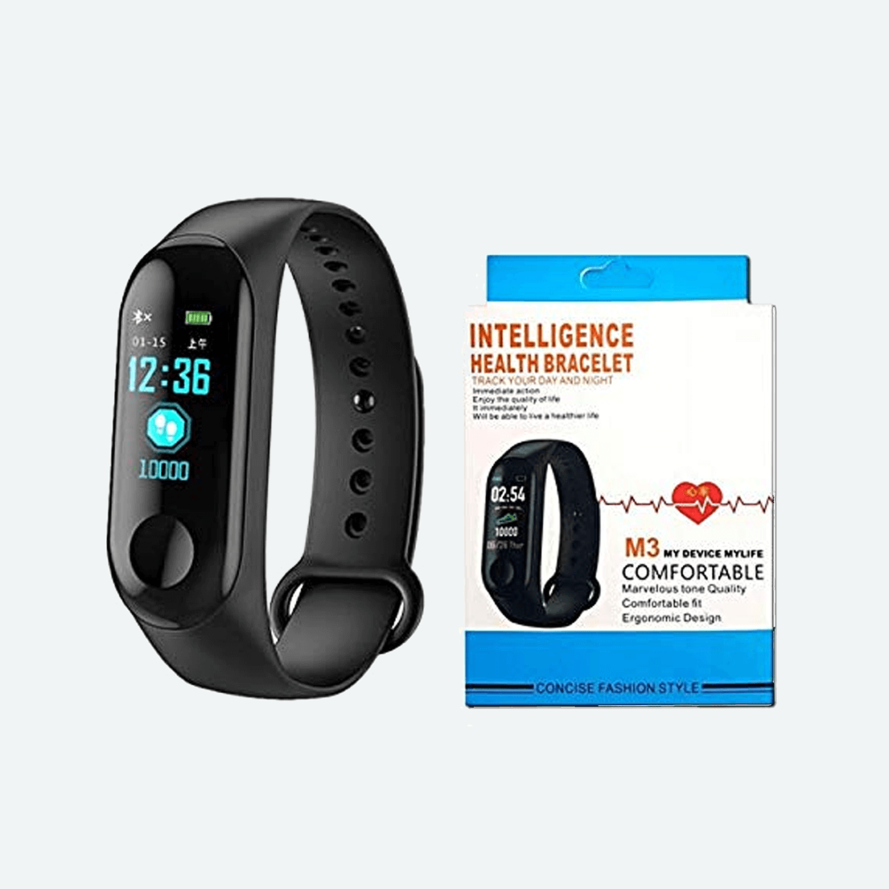 M3 Intelligence Bluetooth Health Wrist Smart Band