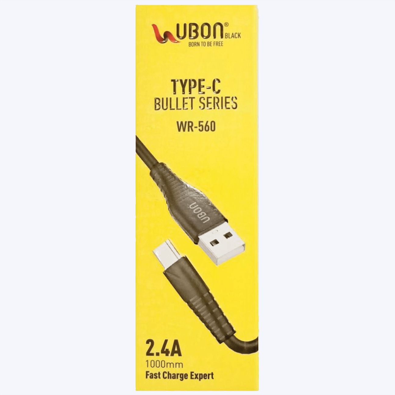 UBON WR-560 Type-C Cable 2.4A Super Fast Charging